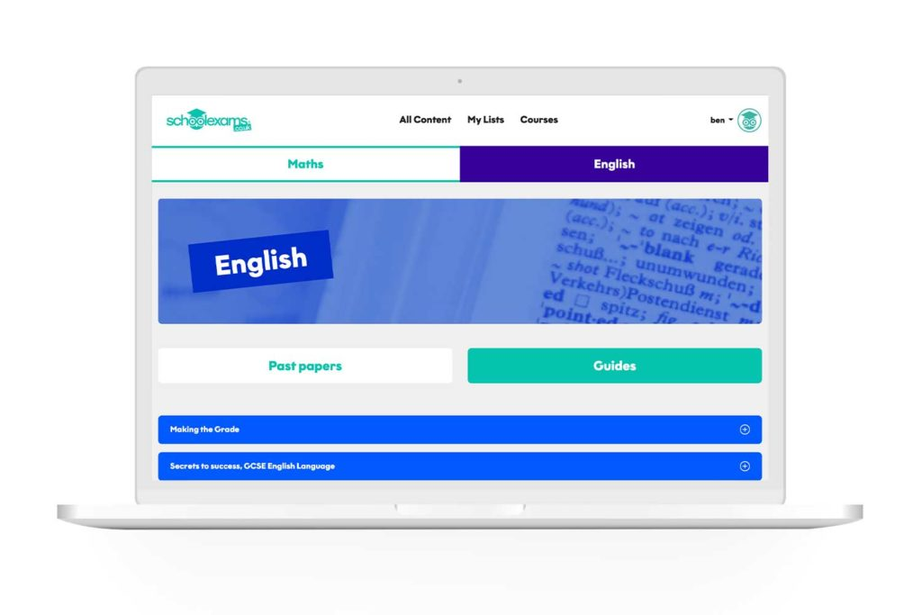 Laptop Gcse English Modules 1024x683