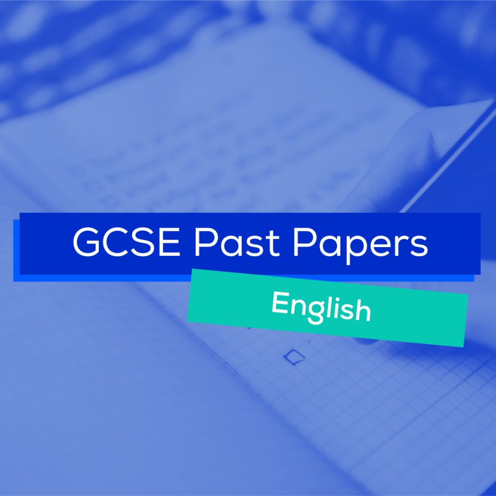 Free GCSE Past Papers English